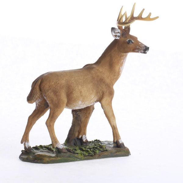 Miniature Buck Deer Figurine - Items