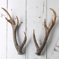 Rustic Faux Deer Antlers