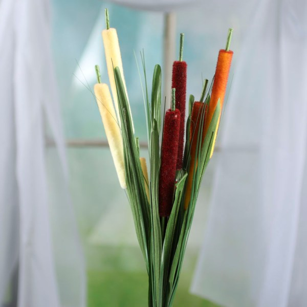 Artificial Cattail Stem - Picks And Stems Floral