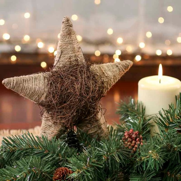 rustic christmas tree topper - Rustic Christmas Tree Topper