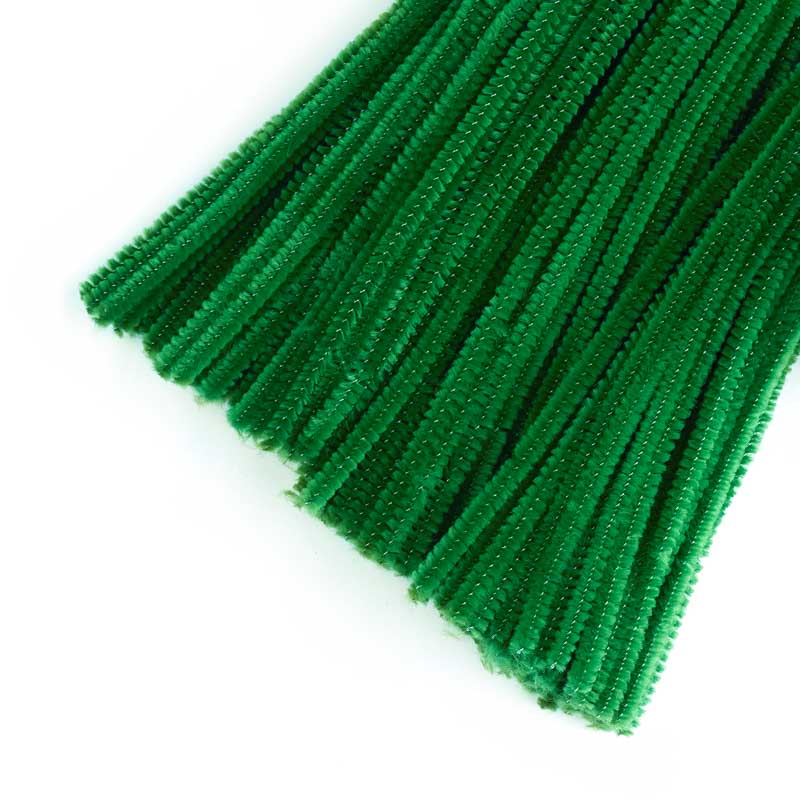 Green Pipe Cleaners