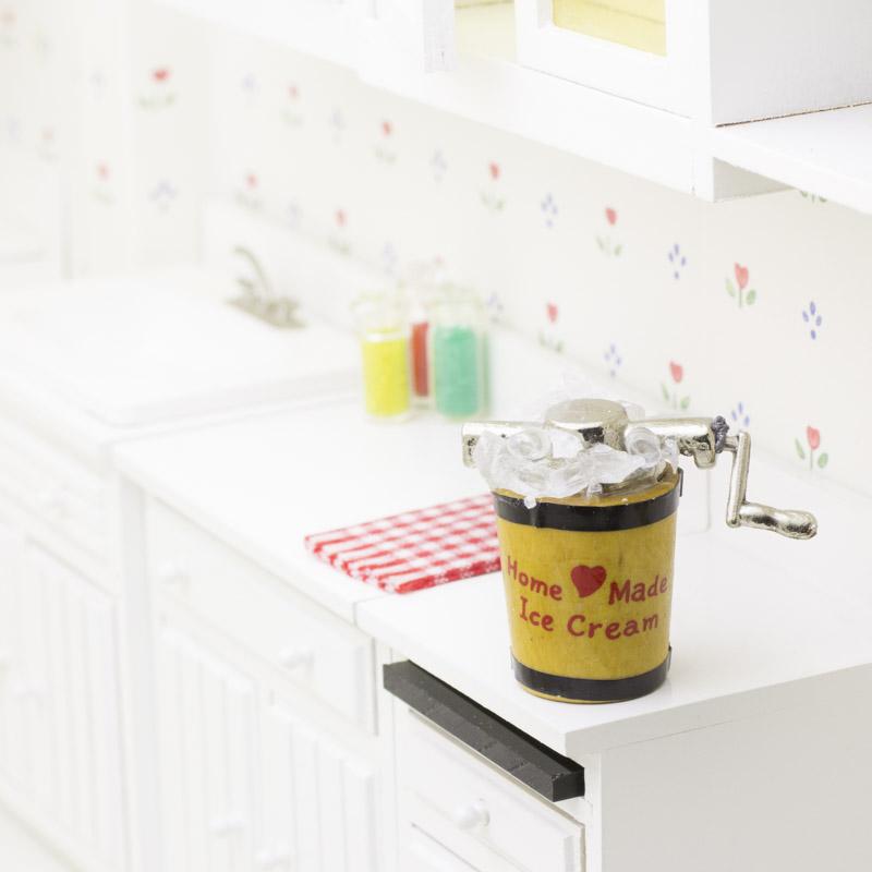bridal shower invitations kitchen theme outdoor fridge miniature old fashioned ice cream maker - ...