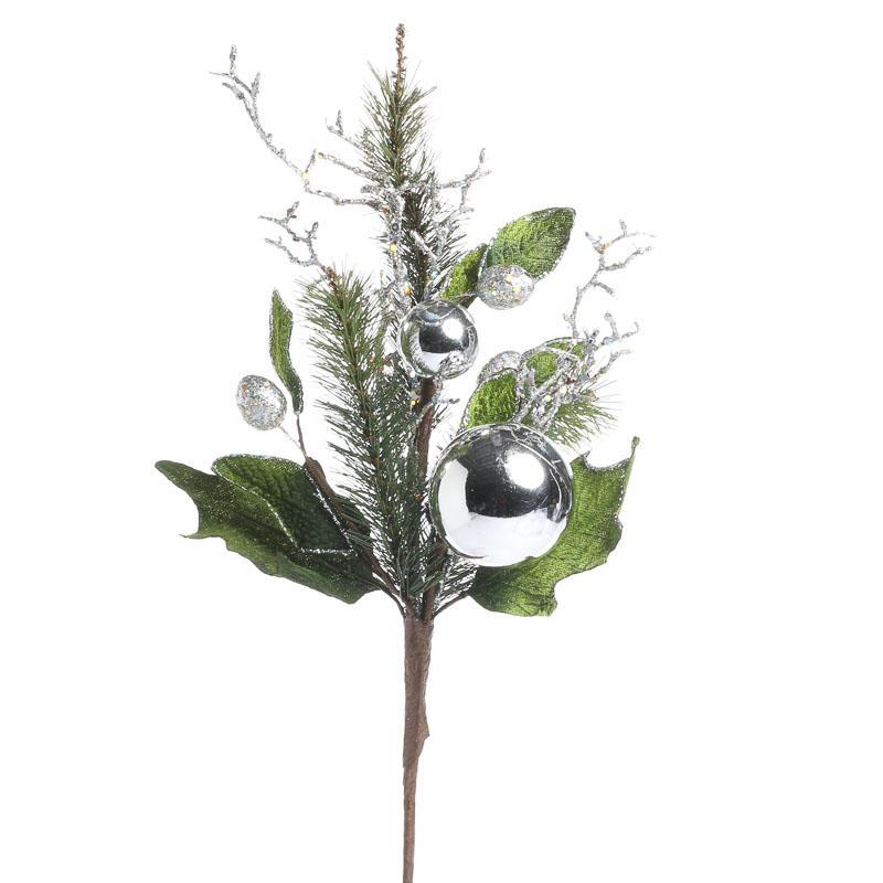 Christmas Artificial Evergreen Spray Picks And Stems