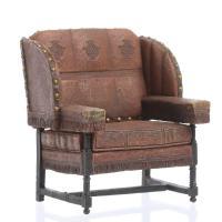 Dollhouse Miniature Billiard Room Chair - Miniature ...