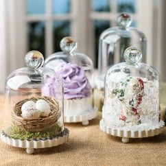 Bridal Shower Invitations Kitchen Theme 36 Sink Acrylic Dome Cloche With Metal Base - Decorative ...