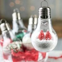 Acrylic Fillable Light Bulb Ornament - Acrylic Fillable ...