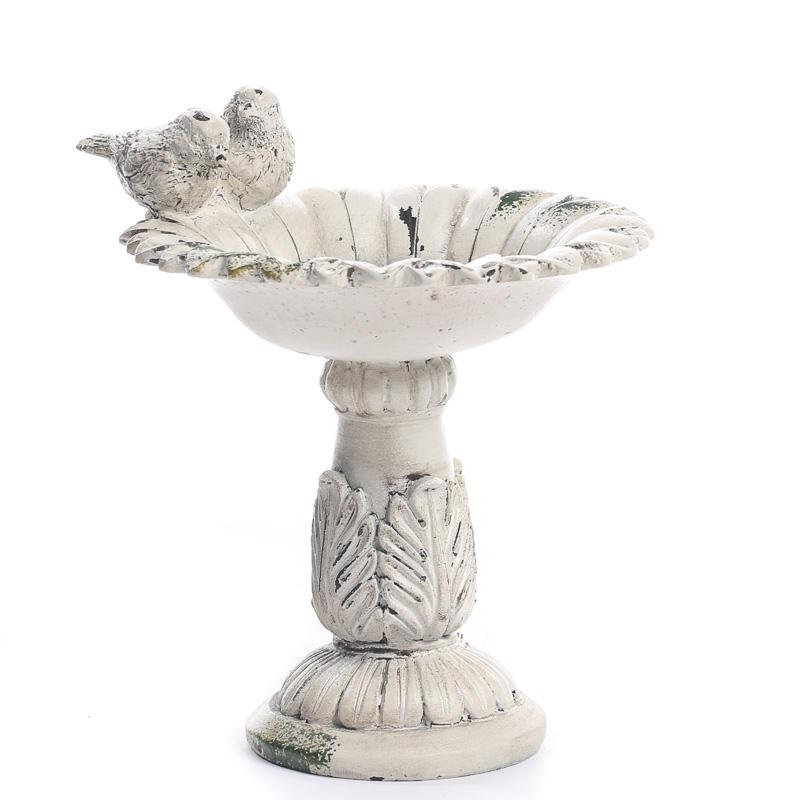 Elegant Bird Bath Candle Holder