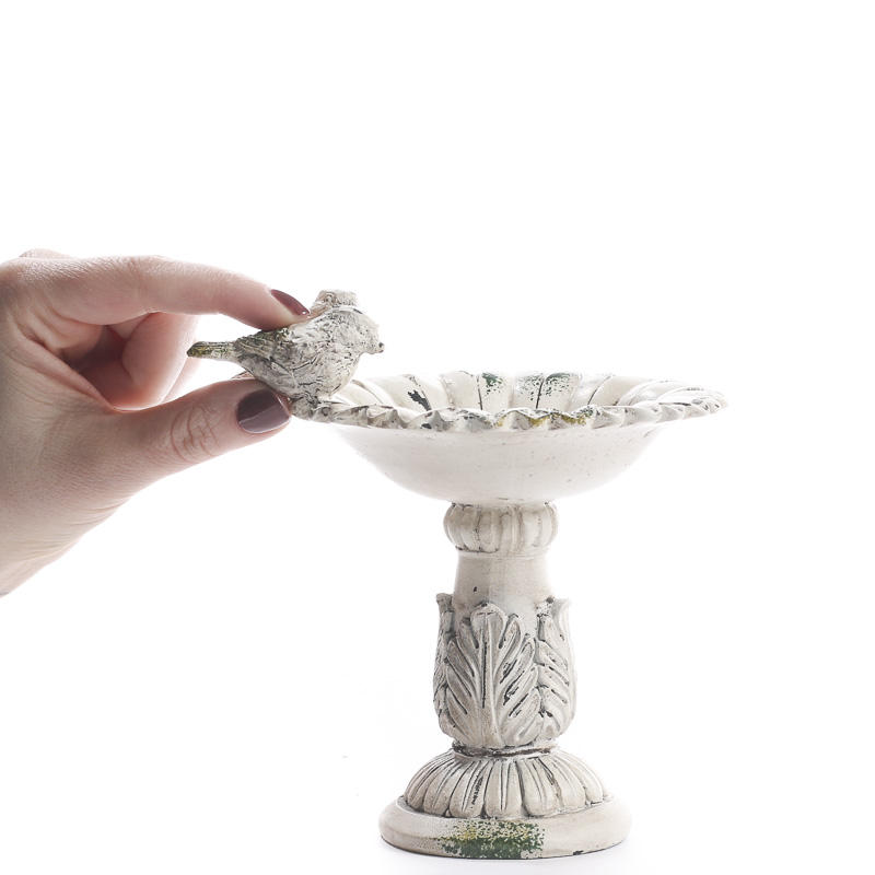Elegant Bird Bath Candle Holder Candles And Accessories