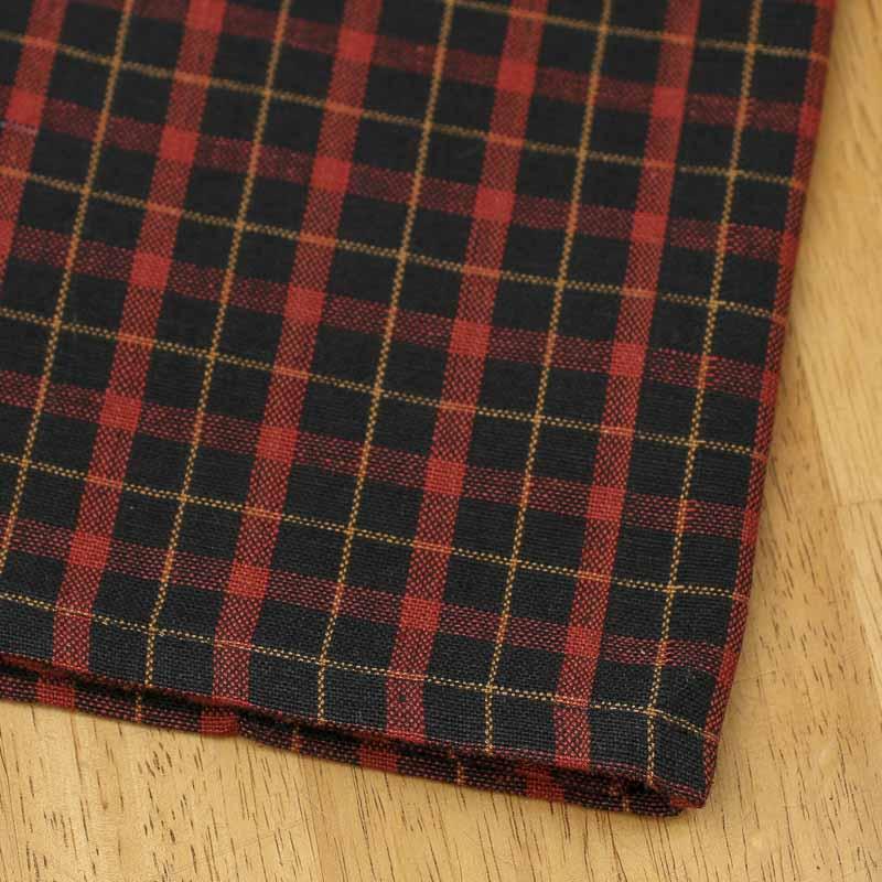 Red and Black Tartan Plaid Dish Towel  Kitchen Towels