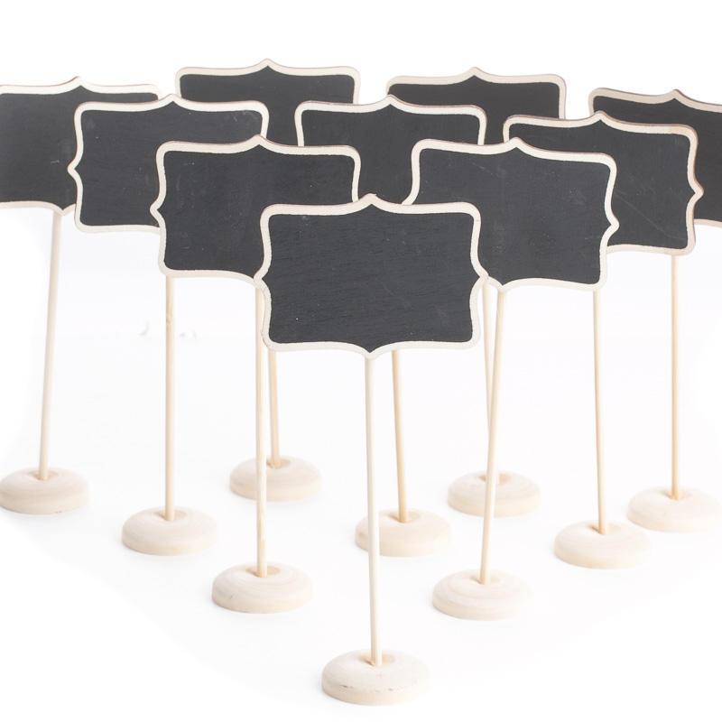 Small Laser Cut Chalkboard Signs  Mini Chalkboards  Wood