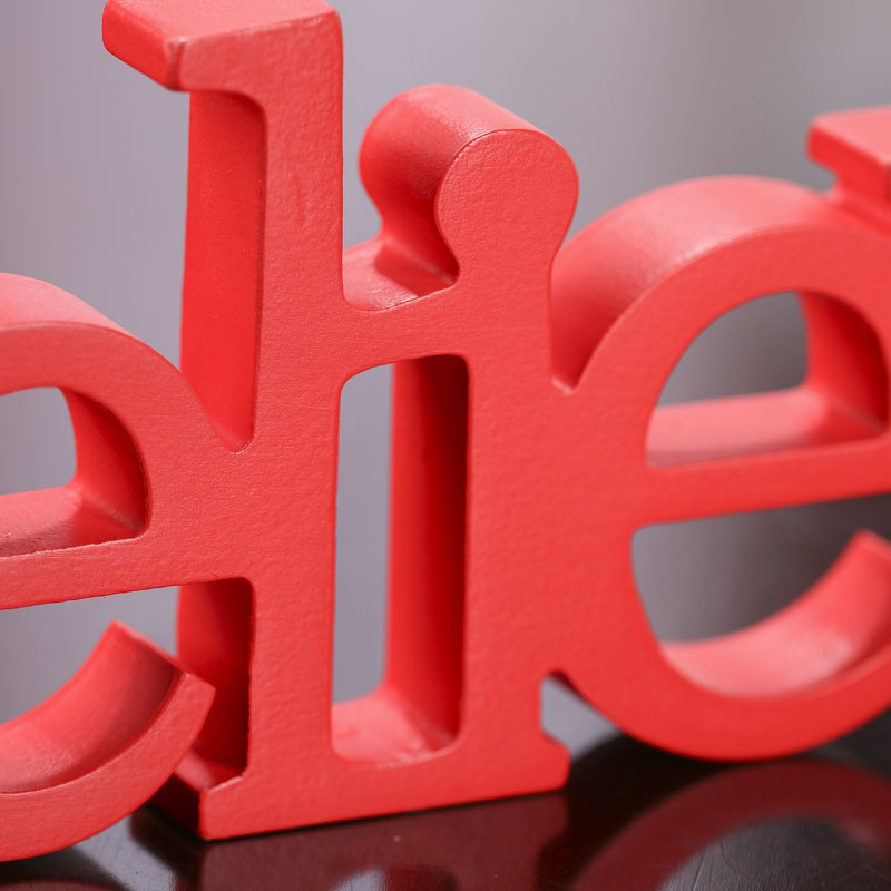 Decorative Letters Home Free Standing