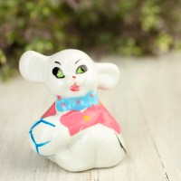 Vintage-Inspired Porcelain Circus Mouse - On Sale - Home ...