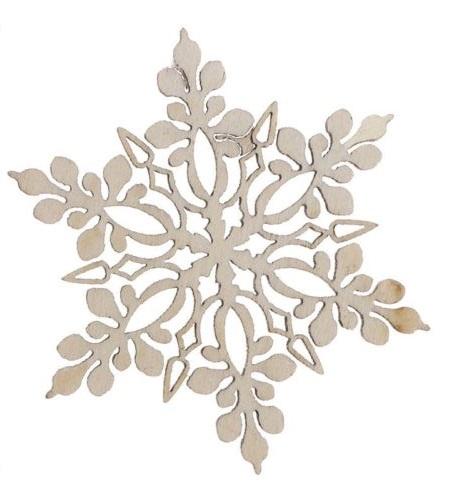 Snowflake Laser Cut Wedding Invitations