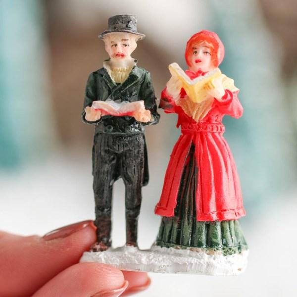 Miniature Christmas Caroler Figurines