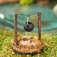 Miniature Fire Pit with Cooking Pot - Recreational ...
