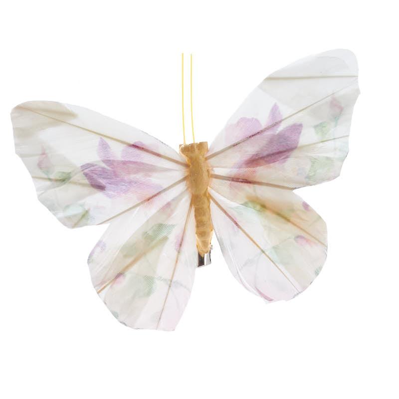 Floral Feather Artificial Butterfly Birds Amp Butterflies
