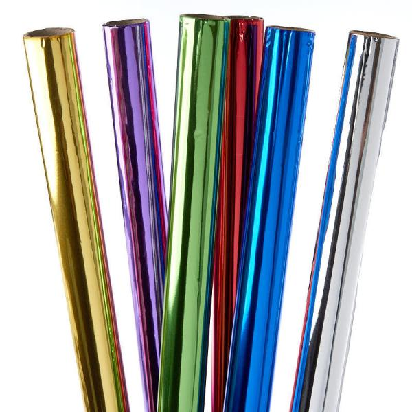 Metallic Foil Gift Wrapping Paper