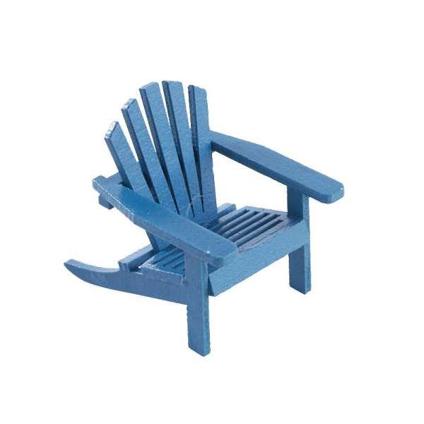 Dollhouse Miniature Adirondack Chairs