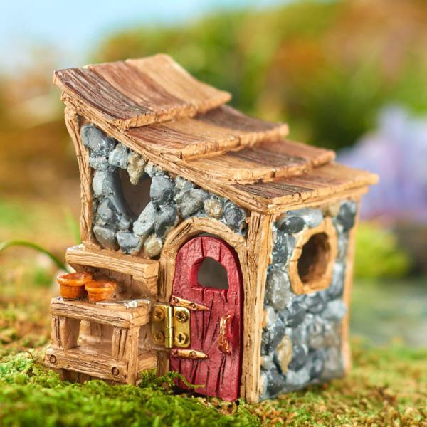 miniature shingletown garden shed