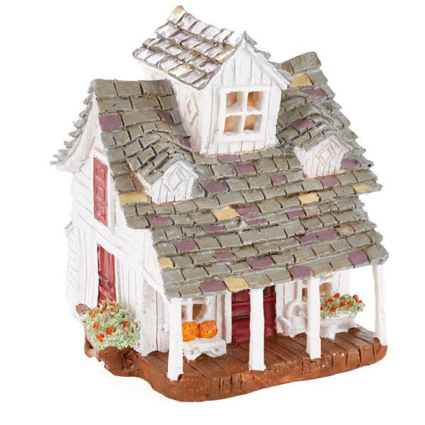 miniature fairy garden farm house