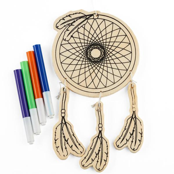 Dream Catcher Wind Chime Kid' Craft Kit - Activity Kits