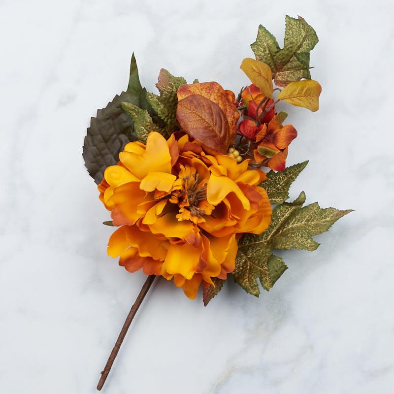 artificial fall flower pick