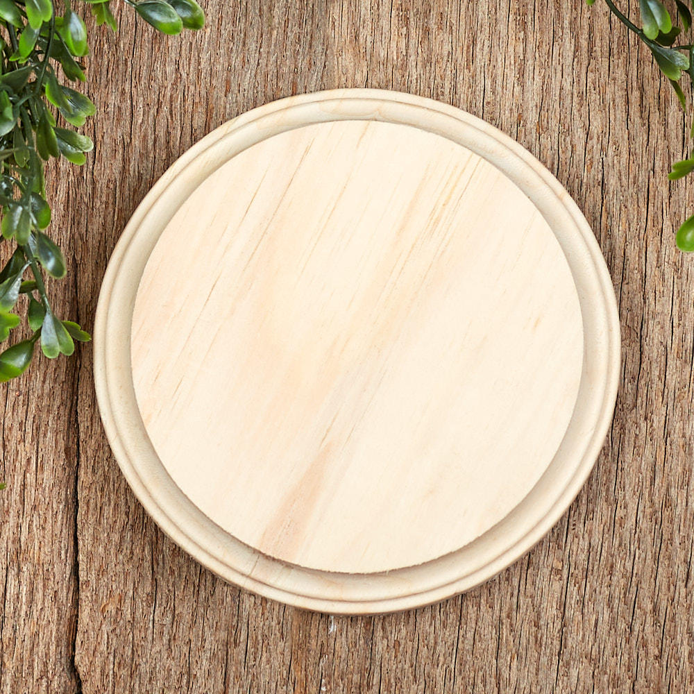 Unfinished Wood Circle Plaque Wooden Plaques And Signs Wood Crafts Craft Supplies Factory Direct Craft