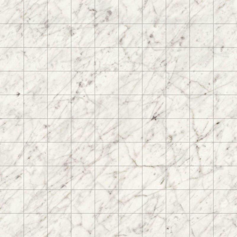 Miniature White Carrara Marble Formica Flooring Sheet