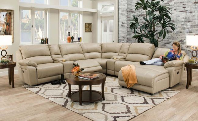 Sectional Theater Seating Sleeper Factory Direct Furniture 4u