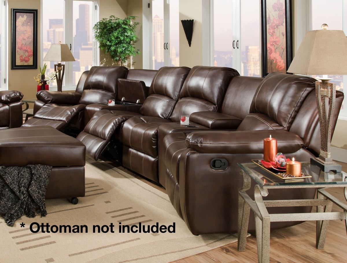 theater seating sofa sleeper chesterfield reduced sectional factory direct furniture 4u