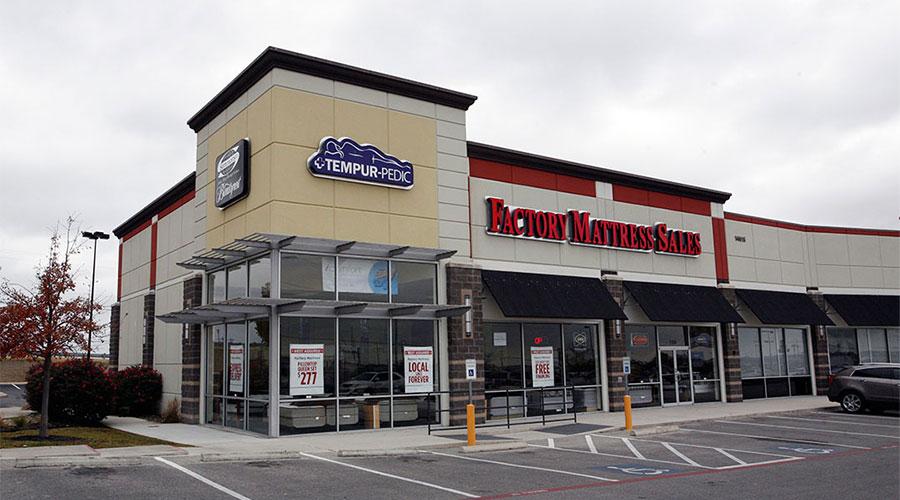 Mattress Store  Factory Mattress location at 14615 N Interstate 35 San Antonio TX 78154