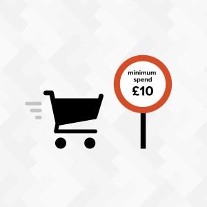 minimum order value in a WooCommerce cart