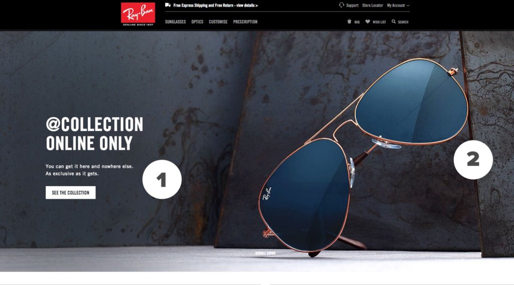 Ray Ban - Home Page
