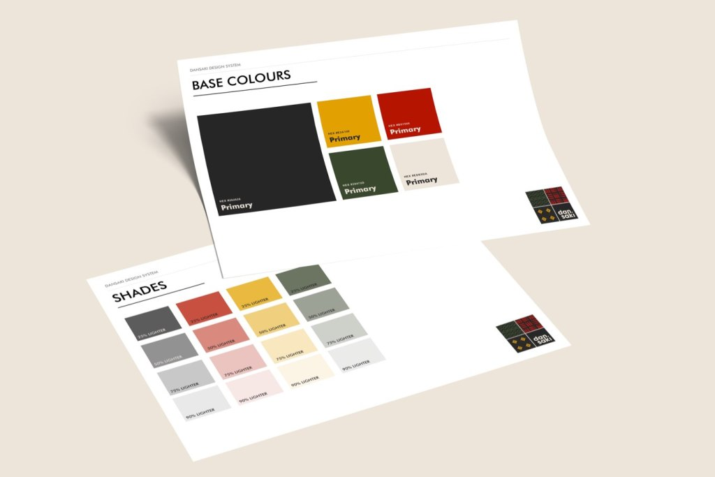Brand colour considerations