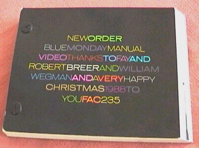 FAC 235 Christmas Card Factory Records Cerysmatic Factory
