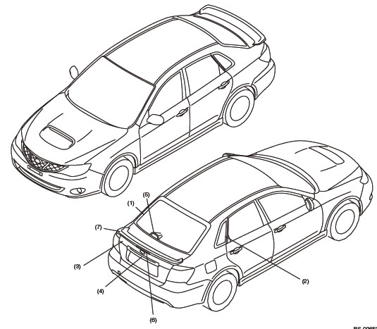 Subaru Impreza – Factory Service Manual