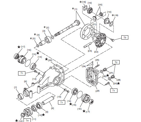 Engine 2000 Subaru Outback Automatic Transmission Diagram