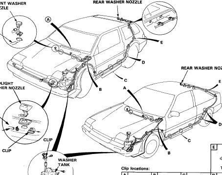 Honda accord 1986 Lx Ex – Service Manual