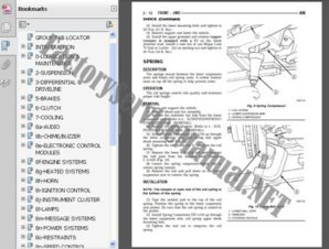 Mazda MPV 1999-2002 Service Repair Manual