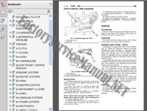 Dodge Caliber 2006-2009 Factory Service Repair Manual