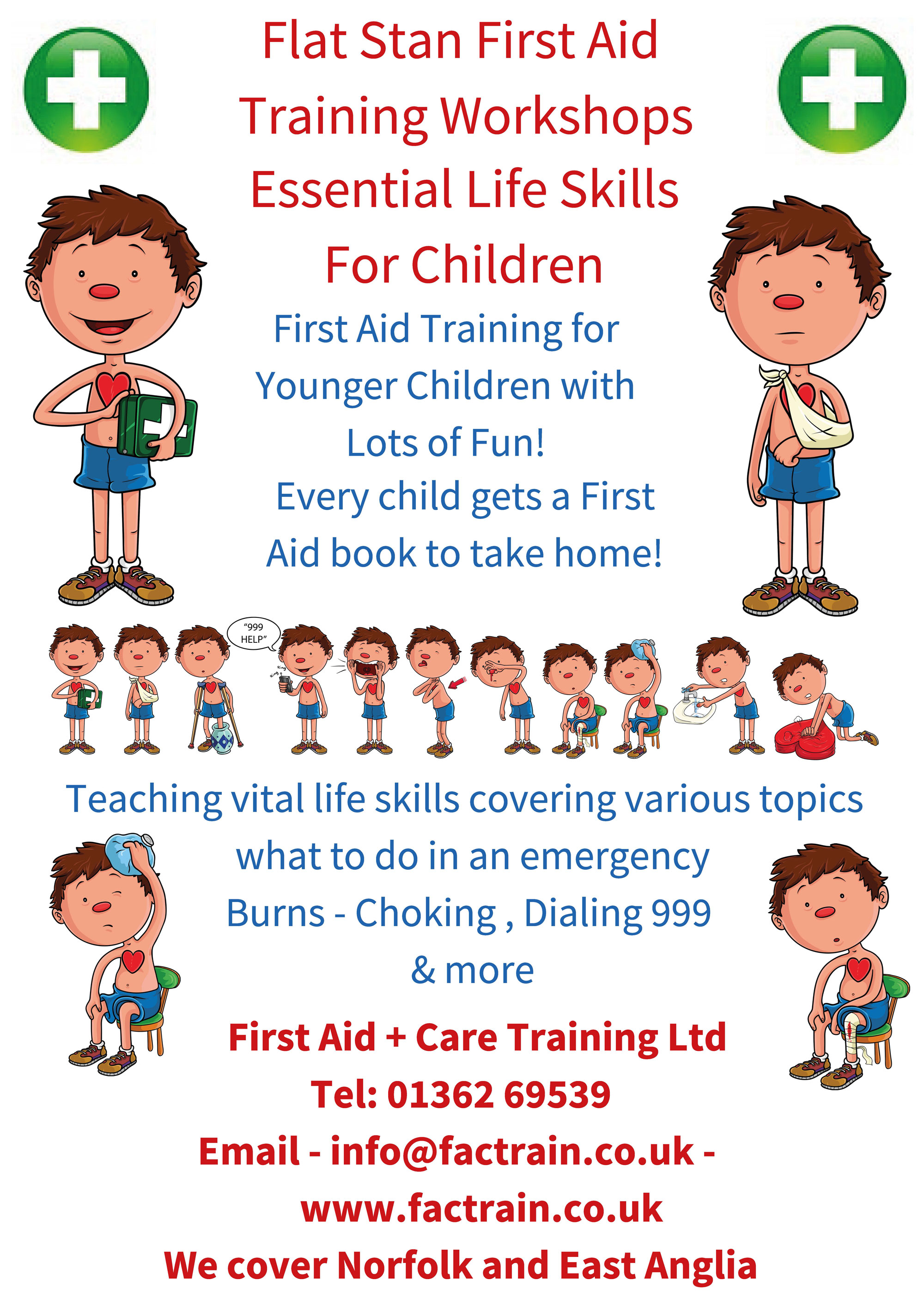 Flat Stan First Aid For Children