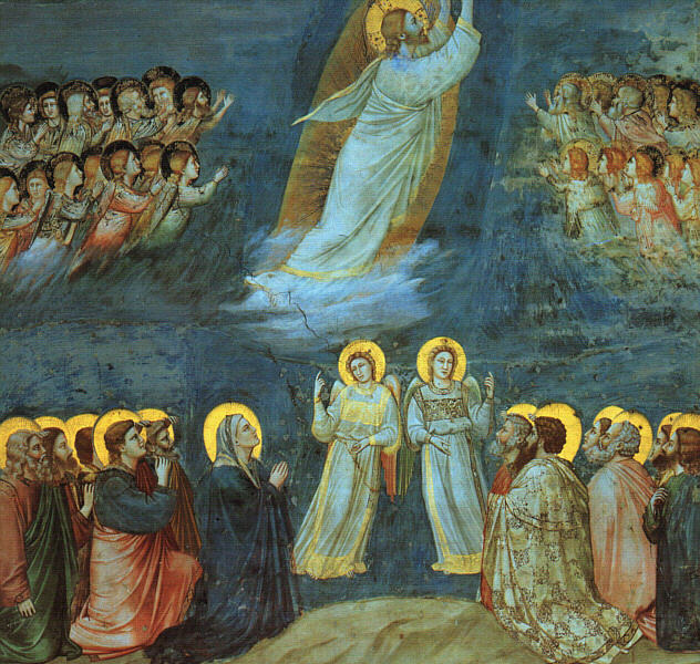 (Jesus Christ Resurrection)(Giotto-Ascension)