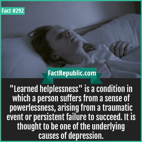 292-Learned helplessness-