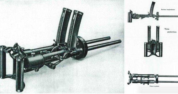 Villar perosa machine gun.