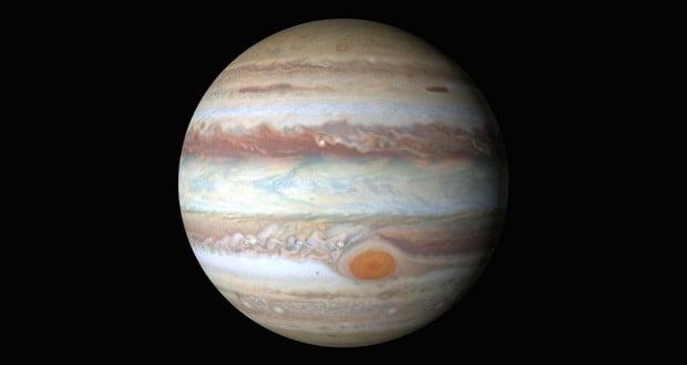 Jupiter shrinking