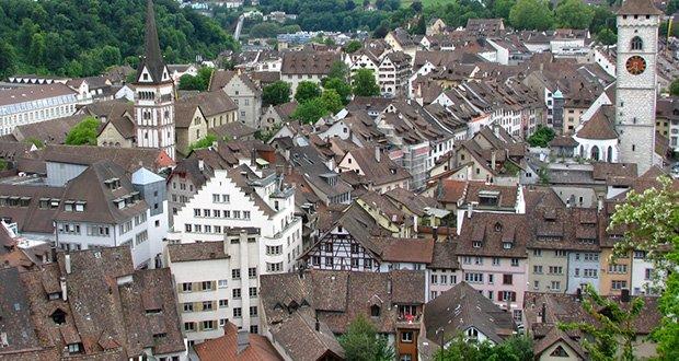Schaffhausen town