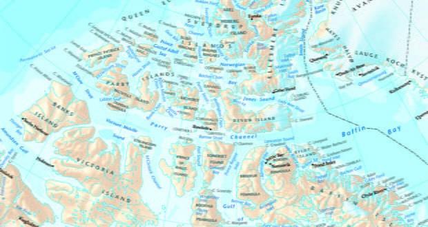 Canadian Arctic maps