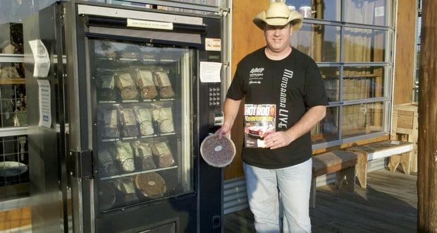 Pecan pie vending machine