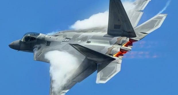 F-22 stealth fighter jet