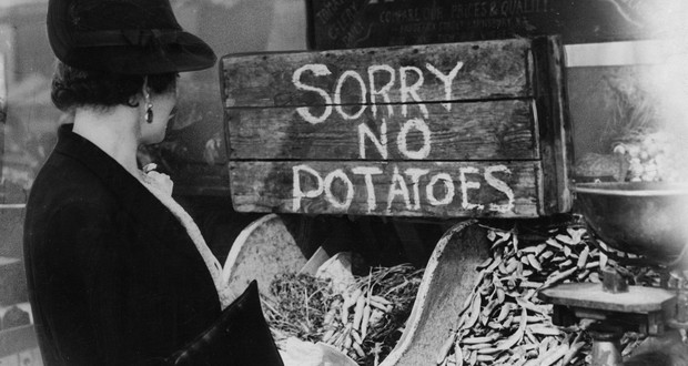 Rationing in England